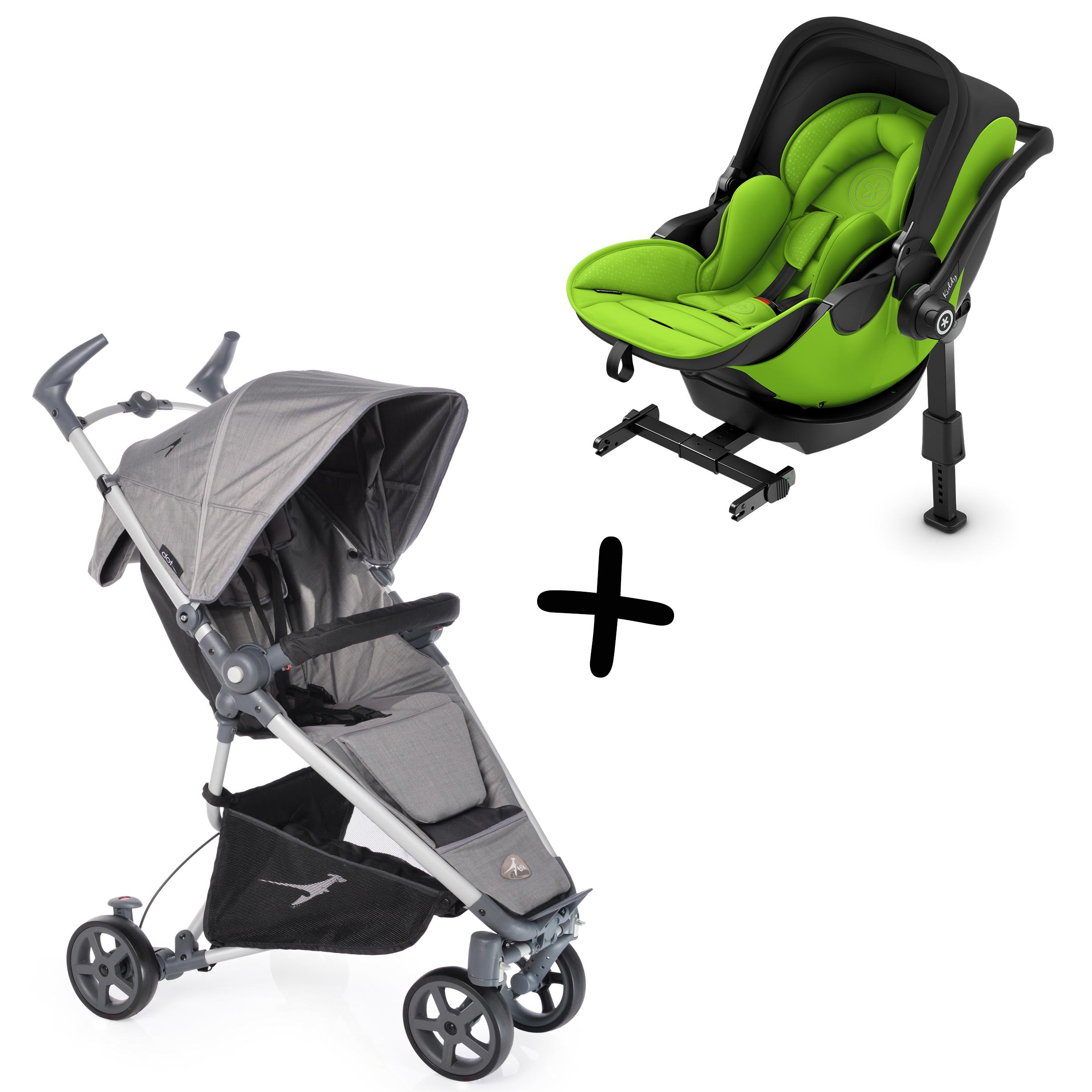 Travelset Kiddy Evolunafix & Buggy TFK Dot Monatsmiete