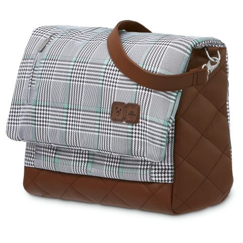 ABC Design Wickeltasche Urban smaragd Fashion Inklusive Wickelunterlage