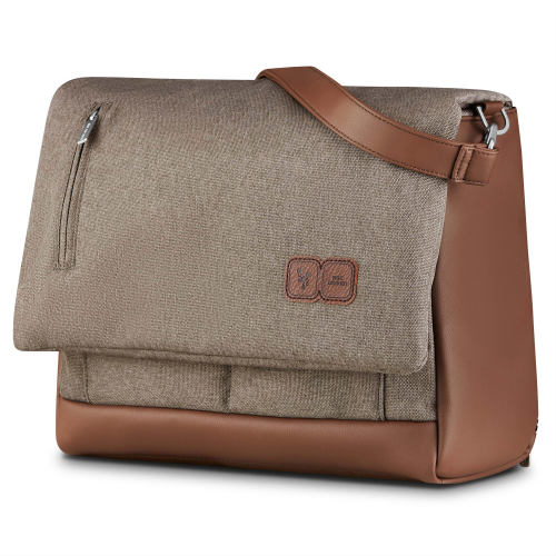 ABC Design Wickeltasche Urban nature Fashion Inklusive Wickelunterlage